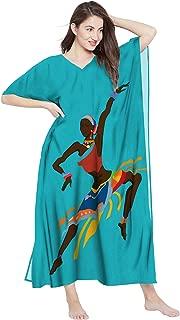 RADANYA Cotton Traditional African Dashiki Caftans for Women