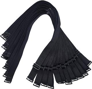 BOZEVON Femmes Bretelles de Soutien-Gorge 3 Paires 1.5cm Largeur Bande Elastique Amovible R/églable de Bandouliere