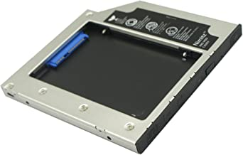 Nimitz 2nd HDD SSD Hard Drive Caddy for Dell Precision M4600 M4700 M4800 M6400 M6500 M6600 M6700 M6800
