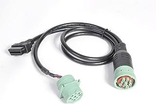 Cabo divisor Mo-Co-So para Mo-Co-So de 1 metro J1939 Tipo 2 para OBD 2 da Mobile Computing Solutions