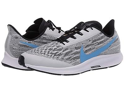 Nike FlyEase Air Zoom Pegasus 36 (White/University Blue/Black) Men