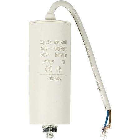 Kondensator 20 µf 450 V Kabel Baumarkt