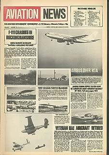 F-111 Crash Focke-Wulf Fw 56 Stosser Aviation News 1973