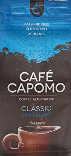 Capomo Herbal Coffee Substitute - Acid, Caffeine And Gluten Free - Natural Dark Roast - Organic Maya Nut - 11 oz.'s - From Tattva's Herbs