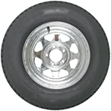 14 inch Galvanized Spoke Trailer Wheel and 215/75R14 Radial Special Trailer Tire Assembly