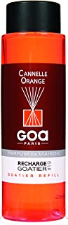 Goa 25919 Diffuseur Recharge Goatier Cannelle Orange 250 ML