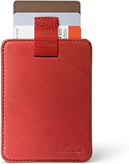 Wally Sleeve Genuine Leather Wallet, Money Clip, Credit Card Holder