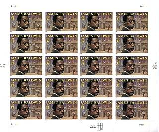JAMES BALDWIN ~ BLACK HERITAGE #3871 Pane of 20 x 37 cents US Postage Stamps