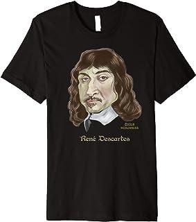 Rene Descartes caricature