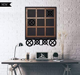 Unique Wall Decor, Message Board, Convenient to Play Game, Extraordinary Gift, Wall Decor, Wall Art (TİC TAC Toe)