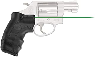 Crimson Trace LG-350 Lasergrips with Heavy Duty Construction and Instinctive Activation for Smith & Wesson, J-Frame Round Butt, Defensive Shooting and Competition