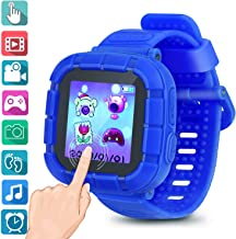 Watches For Kids Smart Watch Game Smartwatches Touch Screen Camera Recorder For Boys Girls Children's Day Birthday Christmas Gifts(Blue)