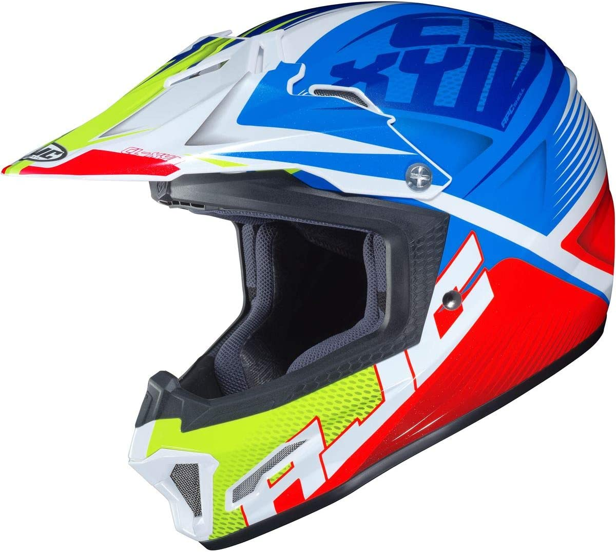 Pink//White Ellusion Small HJC Youth CL-XY 2 Helmet