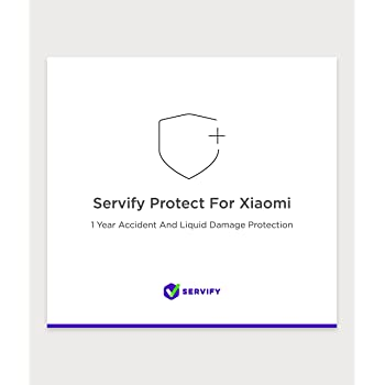 Servify Protect - 1 Year Accident and Liquid Damage Plan for Xiaomi Devices Between Rs. 17001 to Rs. 22000