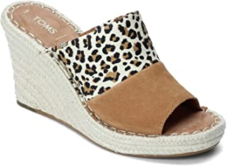 TOMS Women's, Monica Mule Sandal Leopard 10 M