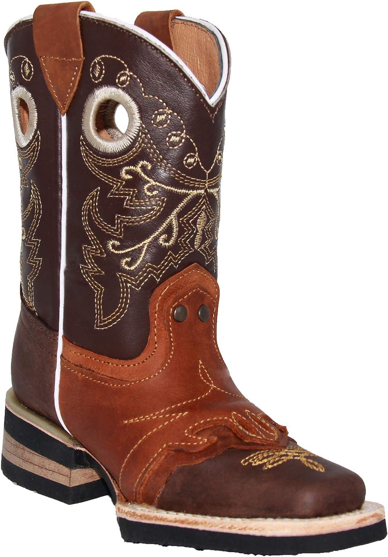 Max 87% OFF Boston Mall Kids Square Toe Western Cowboy Boot