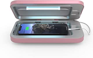 PhoneSoap 3 UV Smartphone Sanitizer & Universal Charger | Patented & Clinically Proven UV Light Disinfector | (Orchid)