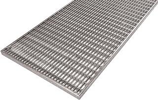 590x790 mm K60 Baunorm Gitterrost//verzinkt//MW 30x30 20 mm hoch