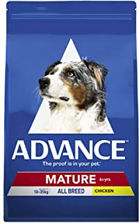 Advance Adult and Senior Dog Mature Chicken 15kg Dog Dry Food