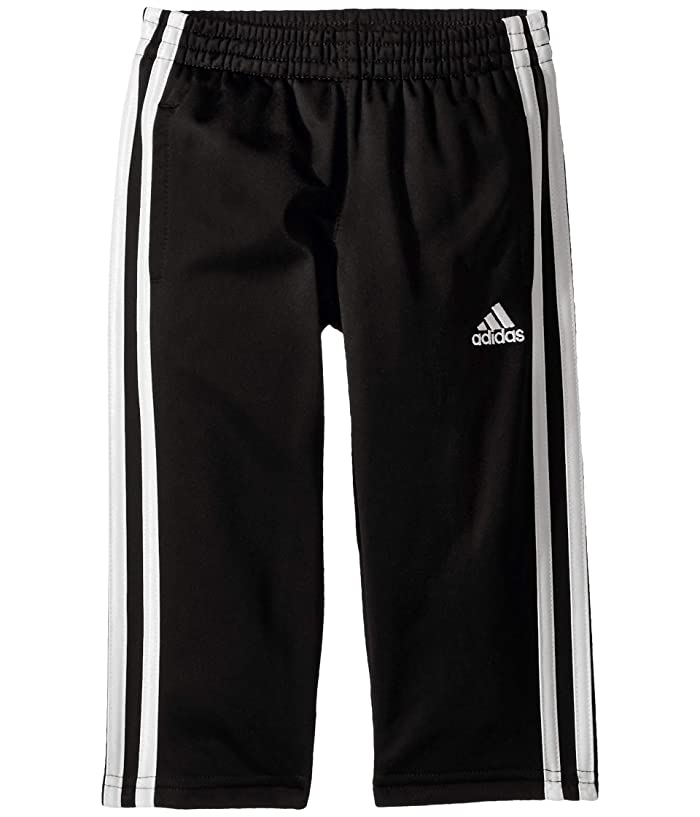 adidas Kids  Replen Iconic Tricot Pants (Toddler/Little Kids) (Black) Boys Casual Pants