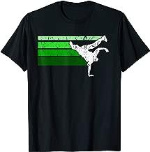Vintage look Hip Hop BBOY breakdance T-shirt Green