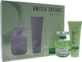 United Colors of Benetton Dreams Live Free 2 Piece Eau de Toilette Spray Gift Set for Women