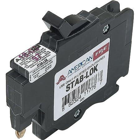 Stab Lock 1 pole 15 amp circuit breaker