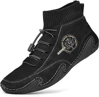 Homme Sneakers Baskets Montante Baskets Hautes Sport Bottes Hiver Homme Bottines Chaude Doublure Décontractées Outdoor Cha...