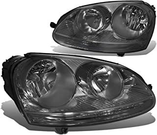 DNA Motoring Smoked HL-OH-VW05-SM Headlight Assembly (Driver & Passenger Side)