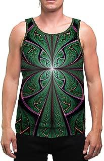 Shamazonia   Mens   Tank Top   Aesthetic   Clothing   Tanks   Psychedelic   Festival   Psy   Cactus