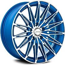 RTX Crystal, 16X7, 5X114.3, 40, 73.1, Blue MACHINED 081884