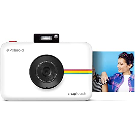 Polaroid Snap Touch 2.0 - 2 x 3 Inch Prints on Sticky-Backed Zink Paper, Portable Instant Digital Camera, 13 MP, Bluetooth, LCD Touchscreen Display - White