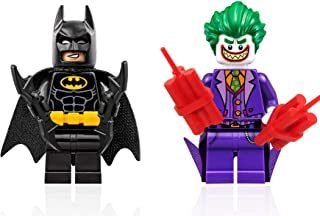The LEGO Batman Movie Minifigure - Batman and Joker with Grin Combo (Limited Edition Foil Packs)