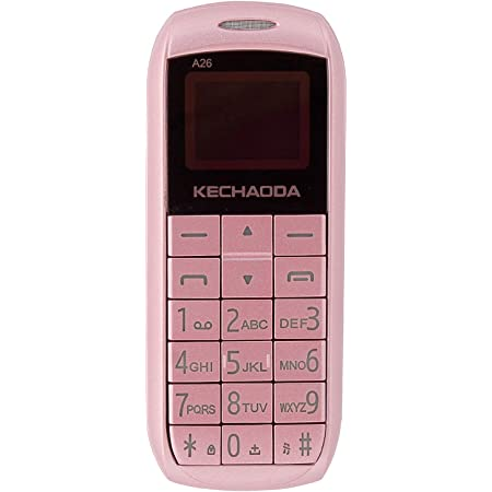 KECHAODA A26 Dual Sim Mobile Phone (Bluetooth Size,Rose Gold, 16MB)