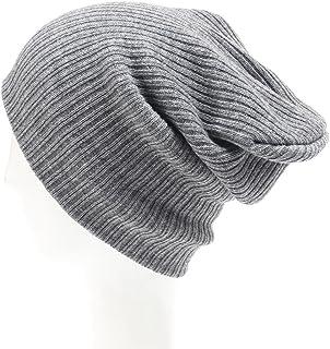 a46173c86ef59 Ubabamama Unisexe Hiver Chaud Solide Bonnet en Tricot Ski Cap Hip-hop Bonnet  en Laine