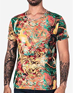 T-SHIRT ABSTRACT 101750