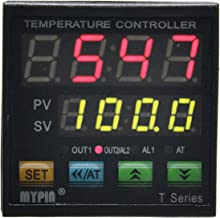 MYPIN® TA4-SNR+K Thermocouple SNR PID Dual Digital Display Temperature Controller Dual Type-K Thermocouple