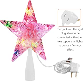 Best colorful christmas tree toppers Reviews