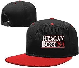 Reagan Bush 84 Red Children Baseball Hat Unisex Adjustable Flat Bill Visor Hip-Hop Cap