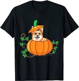 Funny Thanksgiving Corgi In a Pumpkin Gift T-Shirt