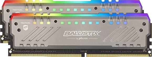 Crucial Ballistix Tactical Tracer RGB 3200 MHz DDR4 DRAM Desktop Gaming Memory Kit 16GB (8GBx2) CL16 BLT2K8G4D32AET4K