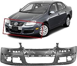 MBI AUTO - Primered, Front Bumper Cover Fascia for 2005-2010 Volkswagen Jetta GTI Sedan 05-10, VW1000161