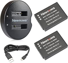 EN-EL12 Newmowa Replacement Battery (2-Pack) and Dual USB Charger for Nikon EN-EL12 and Nikon Coolpix AW100 AW100s AW110 AW110s AW120 P330 P340 S310 S70 S610 S620 S630 S640 S800c S1100pj S1200pj