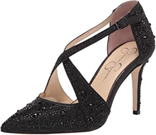Jessica Simpson womens Accile Pump, Black, 8.5 US