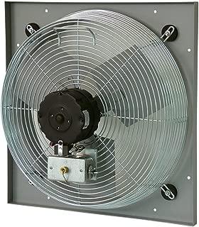 TPI Corporation CE30-DV Venturi Mounted Direct Drive Wall Exhaust Fan, 30