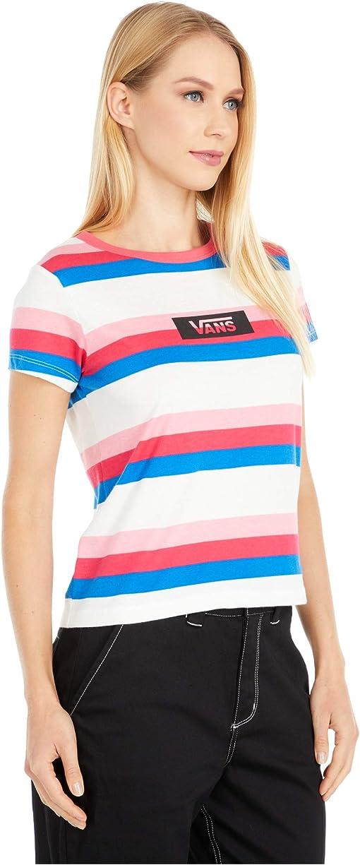Claret Red Gradient Stripe