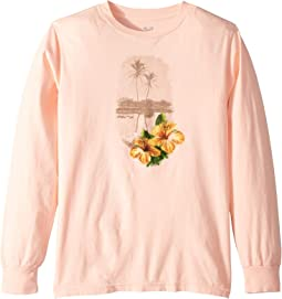 Mirror Palms Vintage Long Sleeve Tee (Big Kids)