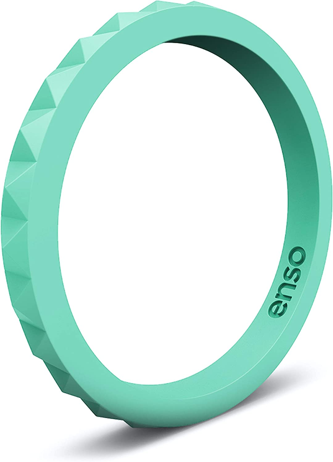 Enso Rings Easy-to-use Stackable Cheap sale Pyramid Silicone Ring – Wedding Hypoal