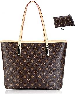 Waterproof Leather Handbags Set for Women Fashion Purse Shouler Totes Bags