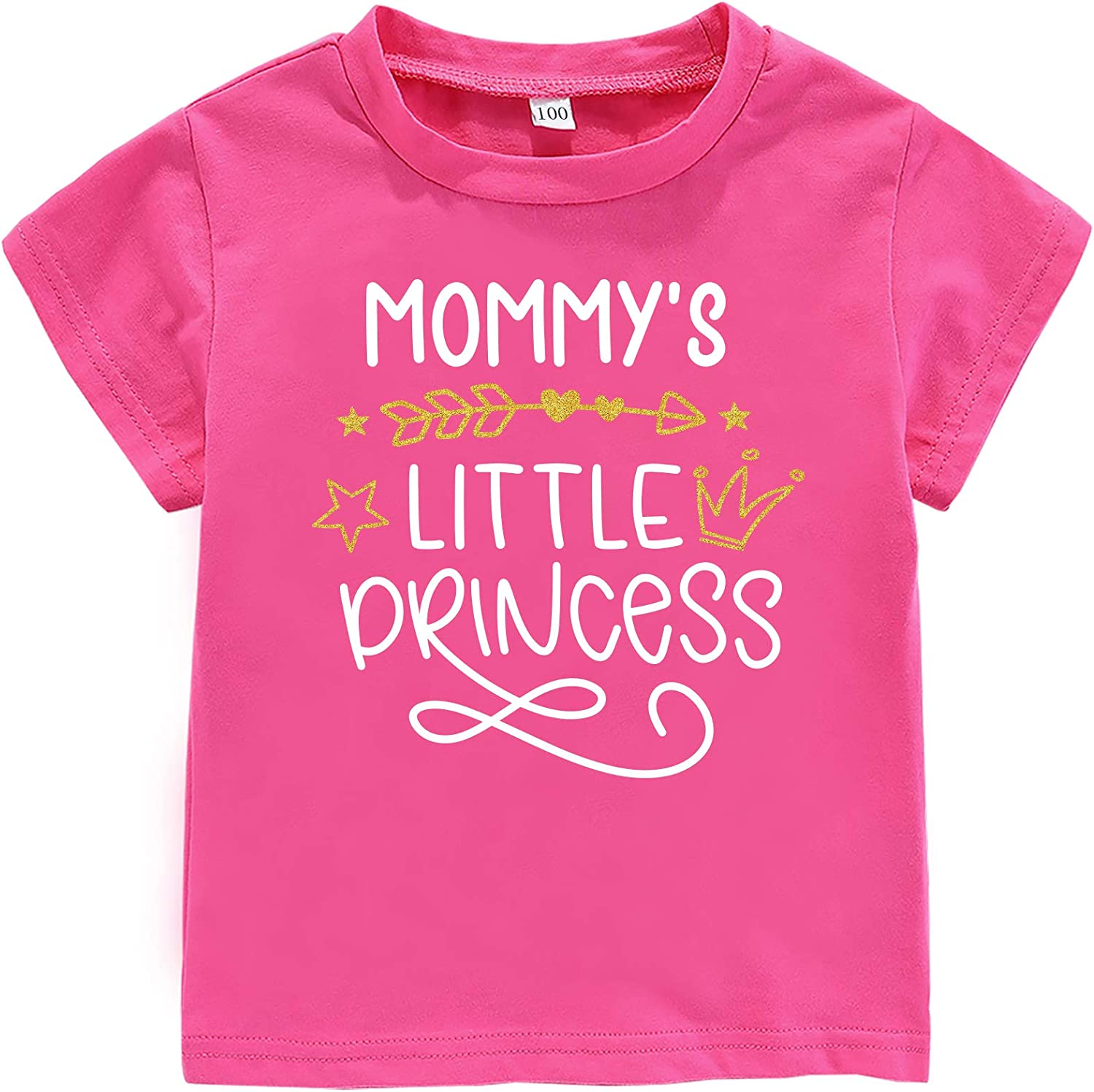 My Heart Belongs to Mommy Toddler Baby Boys Girls Short Sleeve Top Kids Mother's Day Outfit
